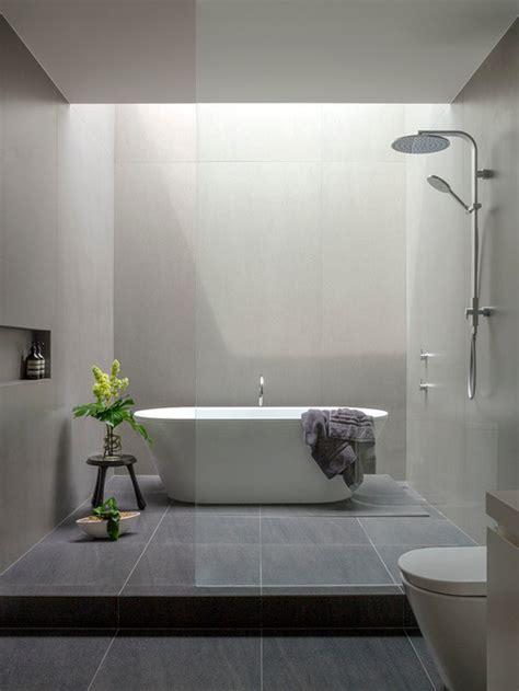 Modern bathroom design ideas renovations amp photos with an open shower