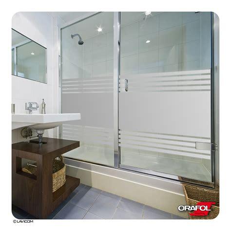 Folie Fenster Sichtschutz Baumarkt by Sichtschutzfolie F 252 R Duschkabine Streifen Fensterfolie