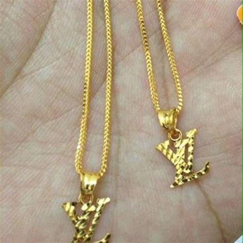 Rantai Set by Rantai Set Emas 916 Fesyen Wanita Perhiasan Wanita Di