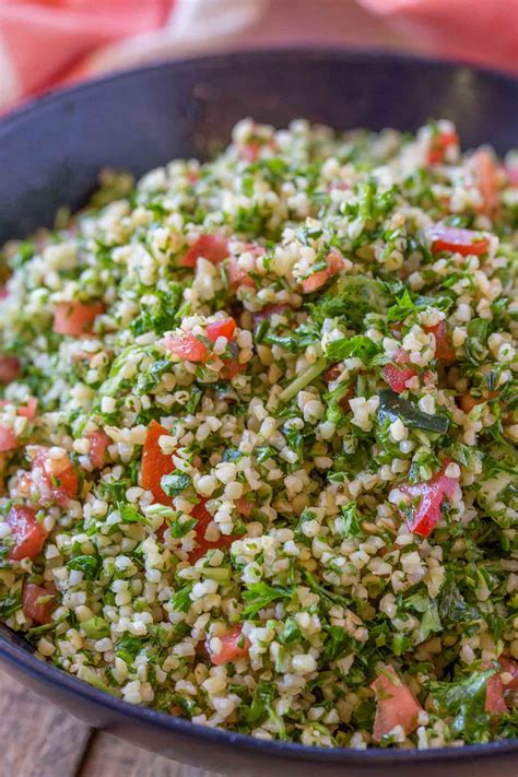 Side Tabbouleh by Tabouli Salad Cooking With Points