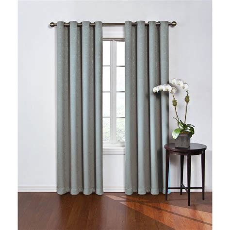 curtains eclipse eclipse blackout round and round blue river polyester