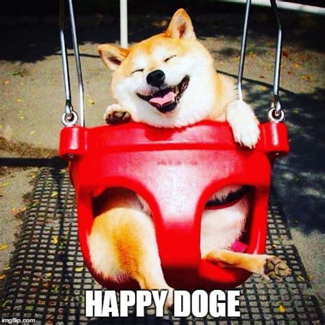 Super Happy Meme Face - happy doge imgflip