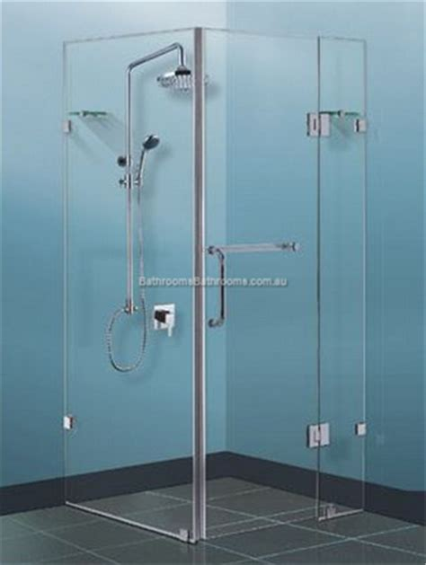 Frameless Shower Screen Sizes: 900/ 1000/ 1100/ 1200 10mm