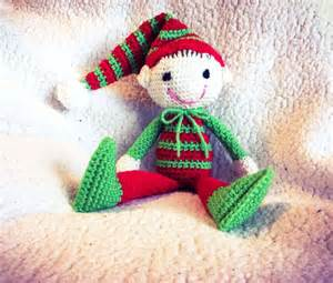 Cute crocheted elf on the shelf my arts and crafts pinterest