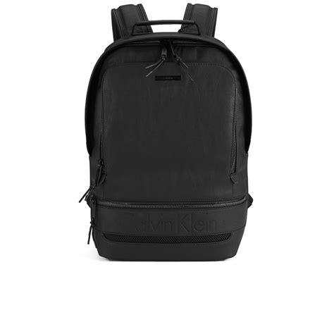 Ck Bag Backpack Black Ck20 calvin klein s asher s backpack black clothing thehut