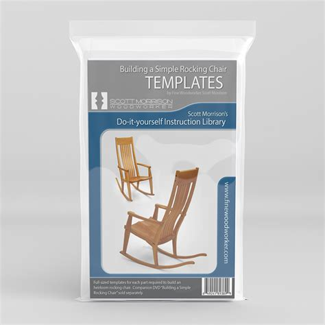 rocking chair template learn how to build a simple rocking chair with morrison