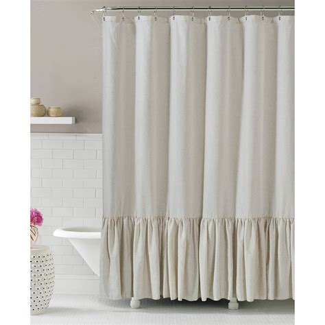 shower curtains gabriella linen shower curtain at home