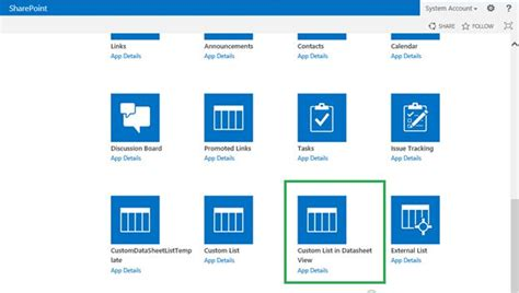 sharepoint 2013 create list from template sharepoint 2013 create list from template 28 images