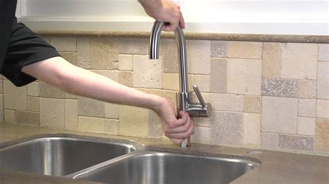 installing a pfister 1 handle kitchen faucet