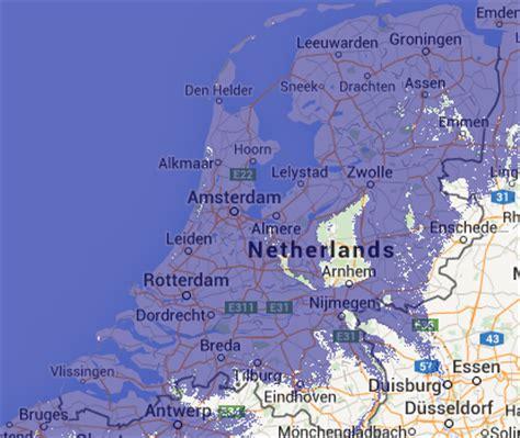 netherlands flood map netherlands underwater map