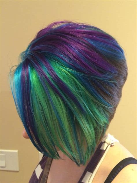peacock colored hair top 10 peacock hair colors for hairstylec
