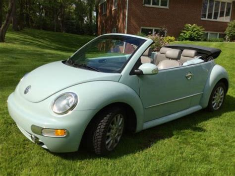 light blue volkswagen beetle purchase used vw beetle convertible light blue in