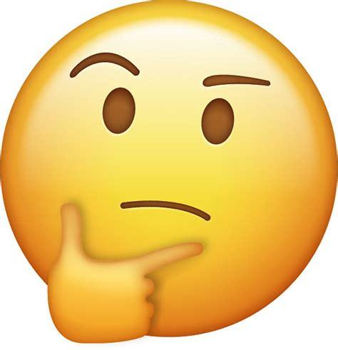 imagenes emoji pensando pegatinas 171 pensamiento emoji 187 de kito26 redbubble