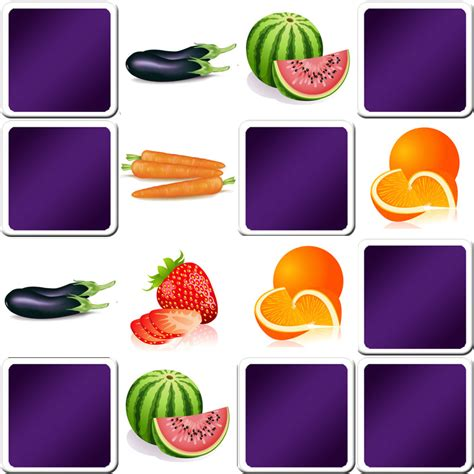 big y vegetables memory fruits and vegetables and