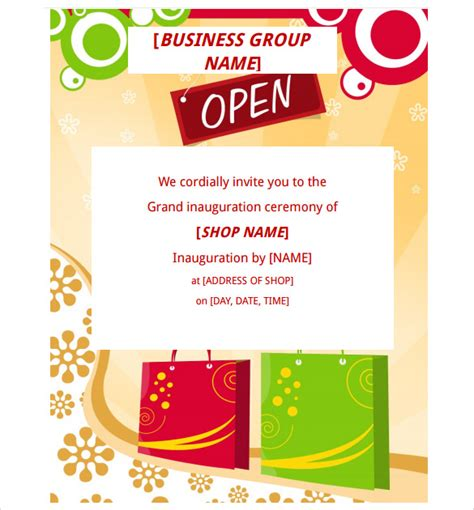 grand opening flyer template free grand opening flyer template 28 document in