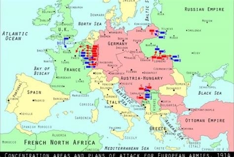 russia map before ww1 world war i centennial russia promises to attack germany
