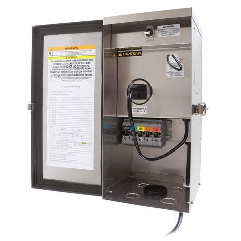 300 watt low voltage lighting transformer w9715 300 watt multi tap low voltage transformer