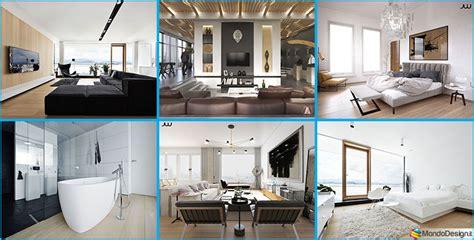progetti di interni interni di lusso 5 progetti di arredo moderno in bianco e