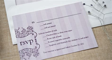 wedding invitation rsvp date wedding stationery mistakes top 10 wedding stationery
