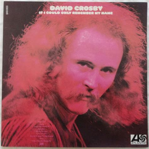 david crosby zoon if i could only remember my name by david crosby lp