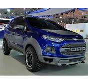 Ford EcoSport Nova 2016 Com Pneus BFGoodrich Mud Terrain