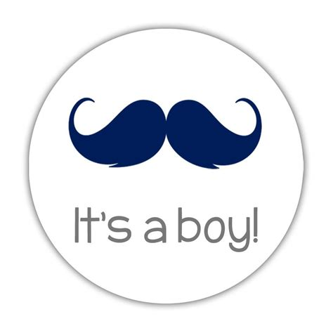 it s it s a boy stickers gender reveal party stickers