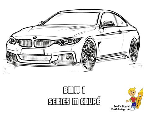 bmw cool cars coloring pages sketch coloring page