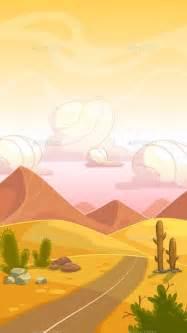 cartoon desert landscape landscape illustration desert