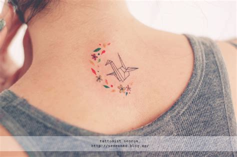 minimalistic tattoos by seoeon will make you want to get