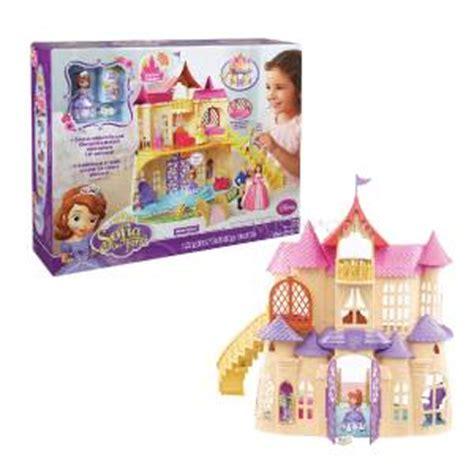 princess sofia doll house disney princess sofia the first magic talking castle dollhouse sophia play set