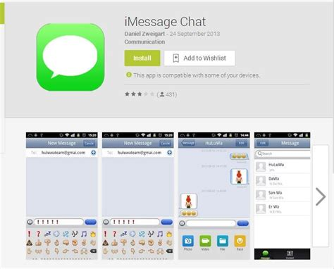 imessage on android apk android imessage app steals passwords and hacks messages