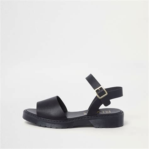 black sandals sale black chunky sole sandals shoes boots sale