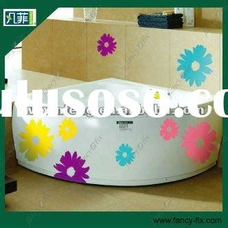 holiday decor manufacturers flower wall decal for sale price china manufacturer