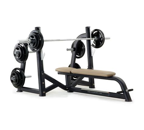 horizontal bench press pulse fitness origin olympic horizontal bench press with