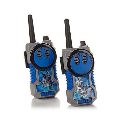 Murah Walkie Talkie Wars once upon a time in a network far far away hsn community