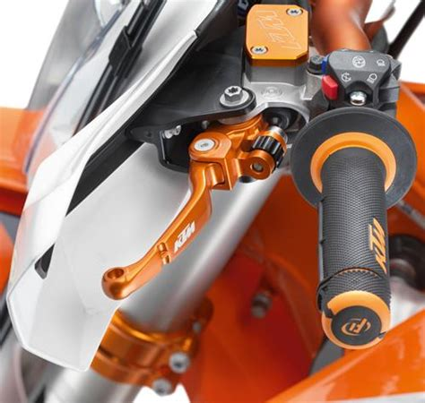 levier embrayage flex orange brembo ktm sxexc