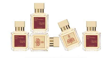 Baccarat 540 Fragrances To perfumed genius francis kurkdjian launches baccarat