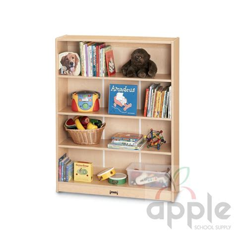 Jonti Craft Bookcase jonti craft maplewave 60 quot bookcase 0962jc011 jonti craft