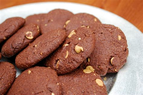 Choco Almond Cookies chocolate almond cookies