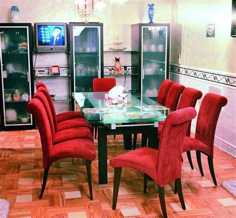 sillas para salon mesas y sillas de sal 243 n rojas im 225 genes y fotos