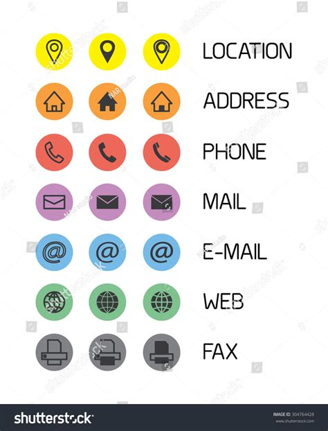 My Gift Card Site Phone Number - colorful icons business cardsmobile phone application stock vector 304764428