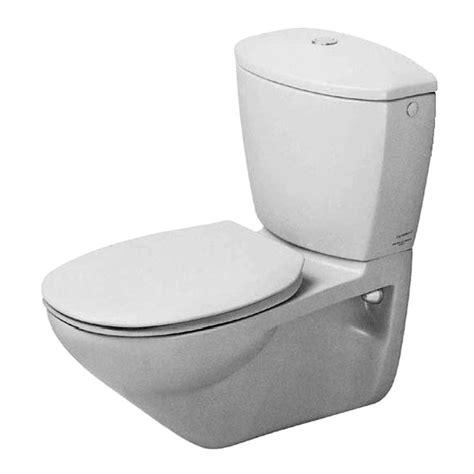 wand wc duravit duravit duraplus practica cascade wand wc wei 223 650