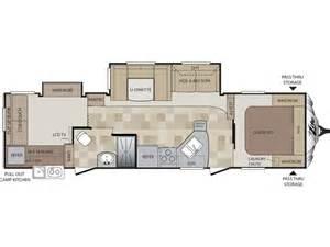 Cougar Travel Trailer Floor Plans 2014 Cougar Xlite 31sqb Floor Plan Travel Trailer Keystone