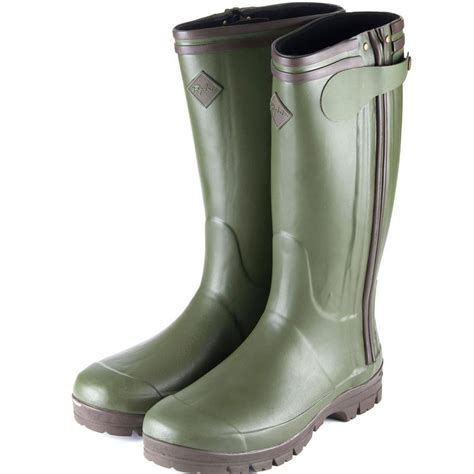 wellingtons boots for rydale mens gransmoor zipped field wellington boots