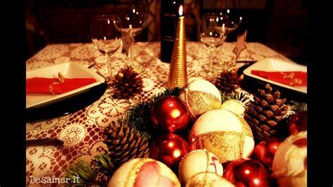 come addobbare una tavola natalizia come apparecchiare tavola di natale