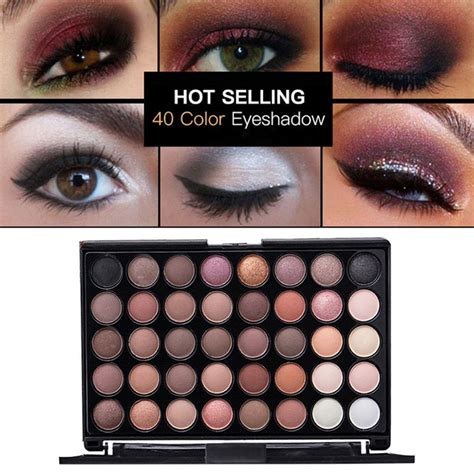 Eyeshadow Shimmer cosmetic matte eyeshadow eye shadow makeup palette