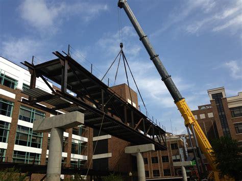 bridge emergency room harris methodist emergency clinic and pedestrian bridge bosworth steel erectors