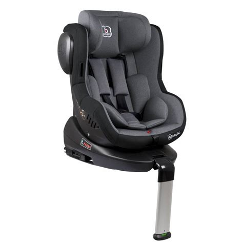 siege auto isofix inclinable si 232 ge auto iso 360 isofix inclinable groupe 0 1 gris babygo