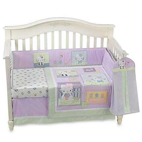 Lambs Ivy 174 Hello Kitty Friends 6 Piece Crib Bedding Hello Crib Bedding