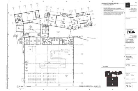 bike shop floor plan petzl north america headquarters and distribution center